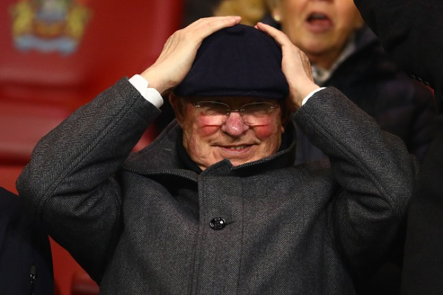 Sir Alex Ferguson was a picture of confusion