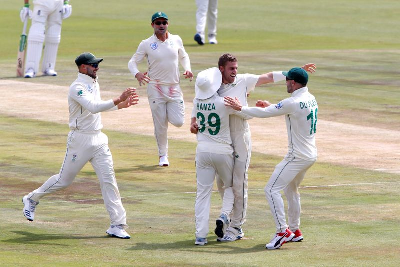 © Reuters. South Africa v England - First Test