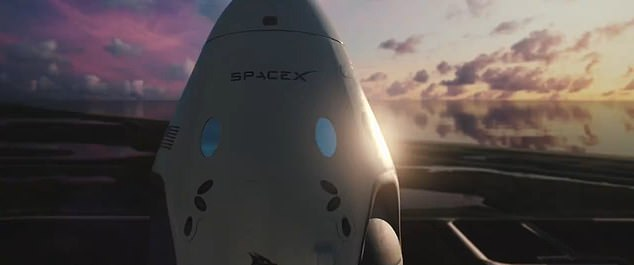 The mission may not kickoff until next year, but SpaceX has shared a simulated video of the first Crew Dragon trip to the International Space Station