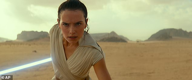 Amazing: Star Wars: The Rise of Skywalker has made $500million (£382million) in its first seven days after rolling out in cinemas across the world last week