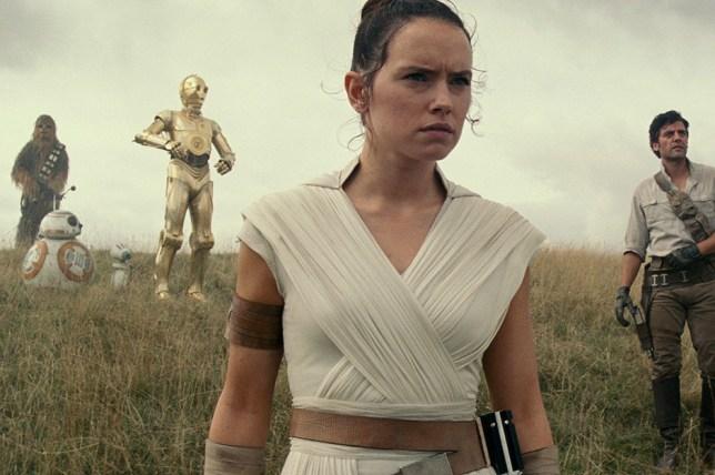 Daisy Ridley in Star Wars