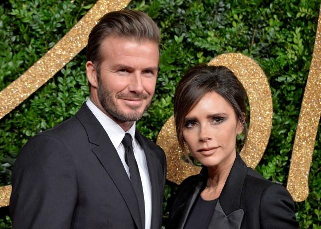 Victoria Beckham and husband David Beckham