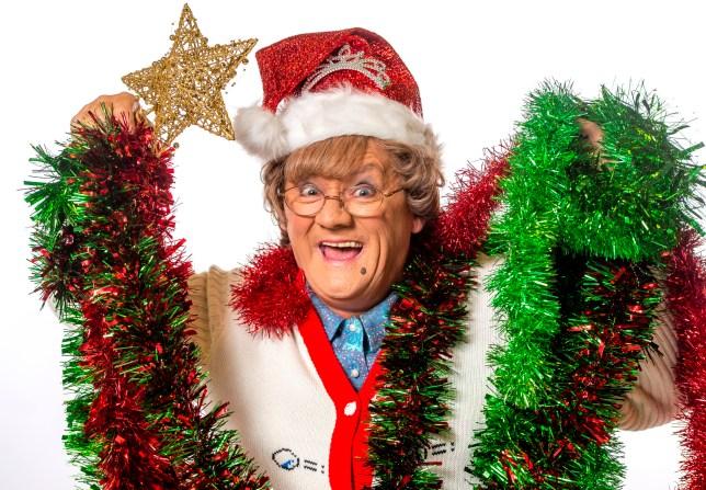 Brendan O'Carroll in Mrs Brown's Boys Christmas