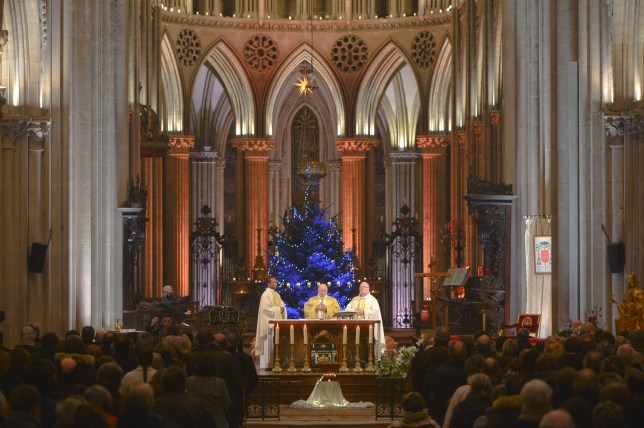 Christmas Eve Celebrations In Normandy.
