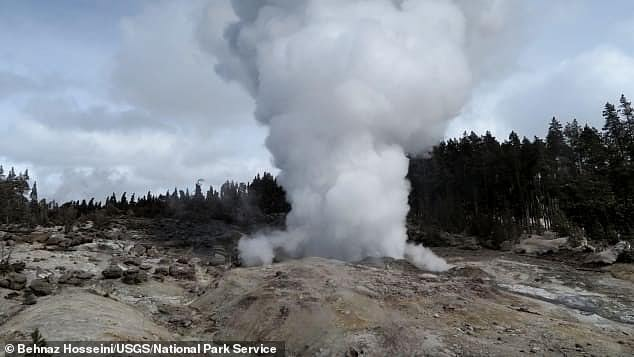 The tallest active geyser in the world has just set another record. The Steamboat Geyser in Yellowstone National Park, Wyoming erupted 47 times this year ¿ compared to the 32 times in 2018