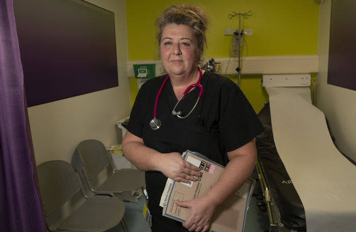 Nurse Julie Reeve came up with the idea for an ambulatory emergency care unit, where less sick and more mobile patients can be treated as day cases