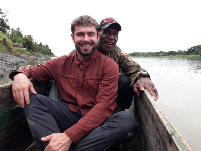 Zac Efron in Papua New Guinea Zac Efron 'nearly dies' after contracting illness in Australia.