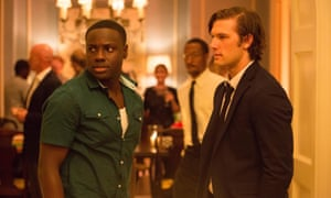 With Dayo Okeniyi in Endless Love, from 2014.