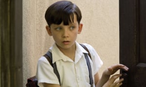Asa Butterfield aged 10 in The Boy In The Striped Pyjamas