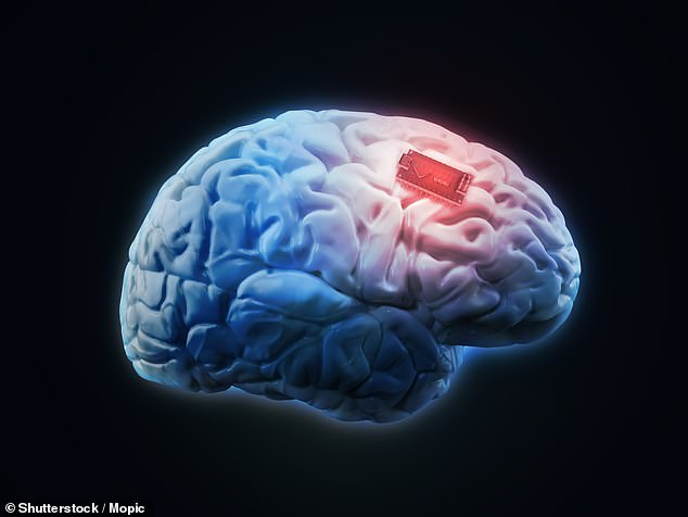 The final major change would be an implant in the brain that would allow the soldier to control technology with their mind(stock image)