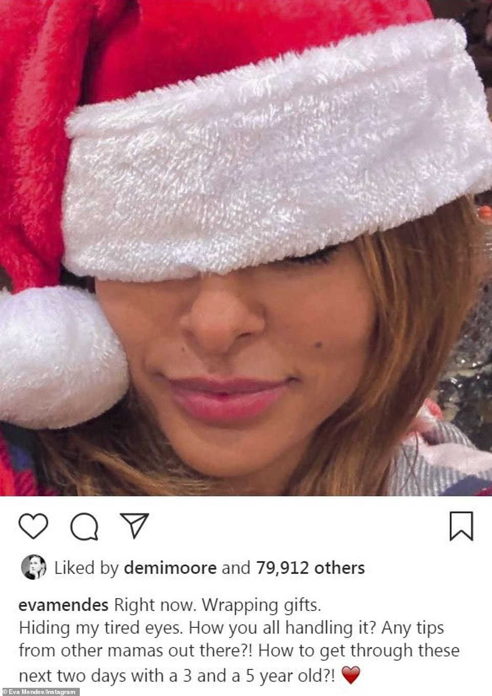 Adoring man: Lopez's fiance also uploaded a pic of the moment, captioning it cheekily with 'My favorite gift is the one in red'
