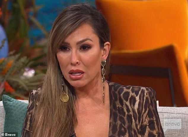 Hug request: Kelly Dodd asked Tamra to give Gina a hug as she became upset