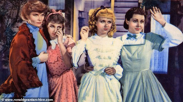 It is also the fact that somehow, across the yawning years, I believe that we can all find ourselves — or some aspect of ourselves — in those pages.From left, Katharine Hepburn, Jean Parker, Joan Bennett and Frances Dee are drawn for the 1933 film