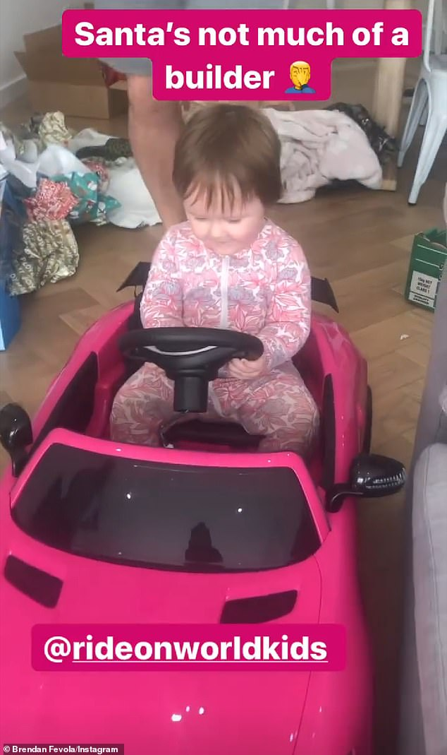 Uh oh!Unfortunately, things went awry when the tot accidentally pulled off the entire steering wheel