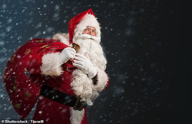 Installing a 'VR cave' at Santa's base in the North Pole may allow him to tackle tricky modern problems and come up with his own unique solutions to allow him to safely and quickly navigate the billions of houses he will visit on Christmas Eve