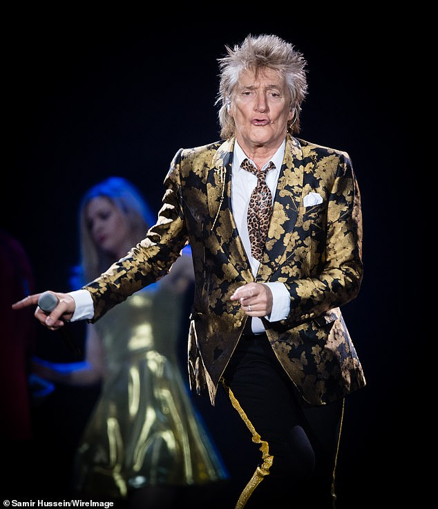 Rocker Rod Stewart, above, revealed in September he was free of what disease, after two years of secret treatment?