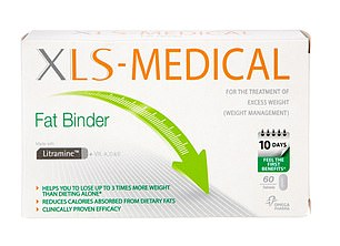 XLS Fat Binders, claim to rid the body of fat consumed in food by binding to it before it is digested