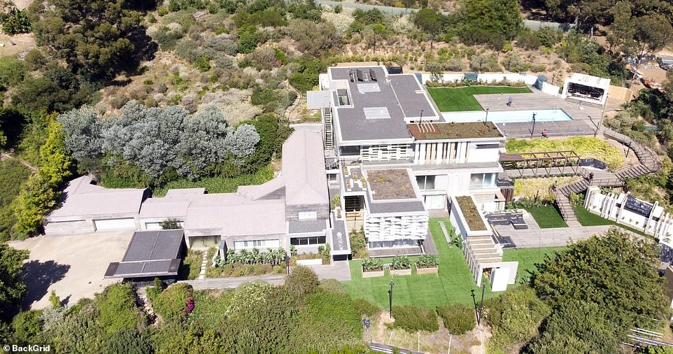 New house: The lavish mansion will boast stunning views for the new series of sexy singletons, as it is perched on the edge mountain overlooking the South African countryside