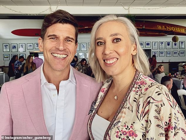 Love story: Audrey and Osher met in 2015, while filming season four of The Bachelor Australia, where Osher worked as a host and Audrey was a stylist and makeup artist.The pair become engaged during a trip to Heron Island in January 2016