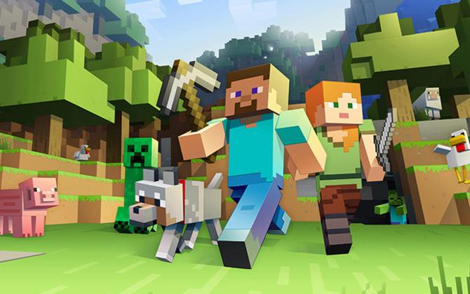Best Video Games of 2010s - Minecraft