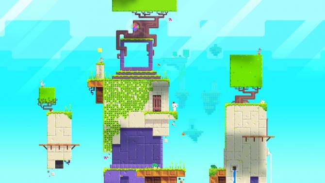 Best Video Games of 2010s - Fez