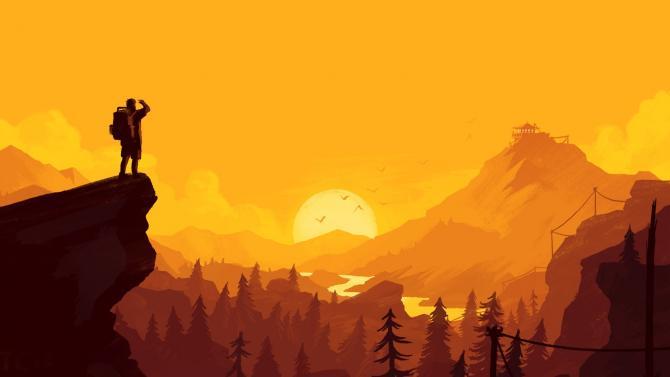 Best Video Games of 2010s - Firewatch