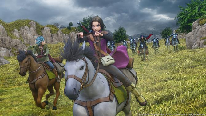 Best Video Games of 2010s - Dragon Quest XI