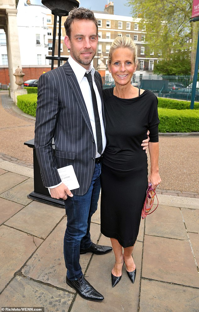 Over:She announced her split from husband Brian Monet in April after eleven years of marriage. Ulrika has spoken candidly about her insecurities during their union