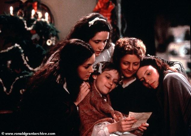 From left, Winona Ryder, Trini Alvarado, Kirsten Dunst, Susan Sarandon, Claire Danes are pictured in the 1994 version