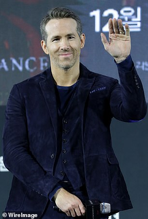 6 Underground landed the third spot in the overall most popular release and second spot as the most popular movie, following Murder Mystery (Ryan Reynolds pictured at the premiere in December)