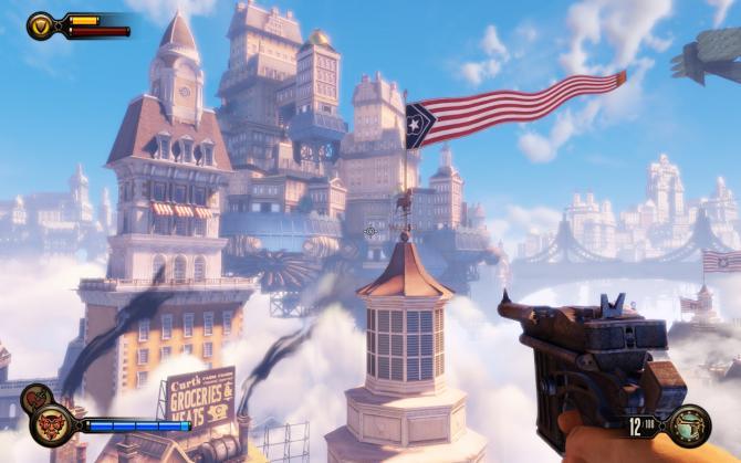 Best Video Games of 2010s - BioShock Infinite