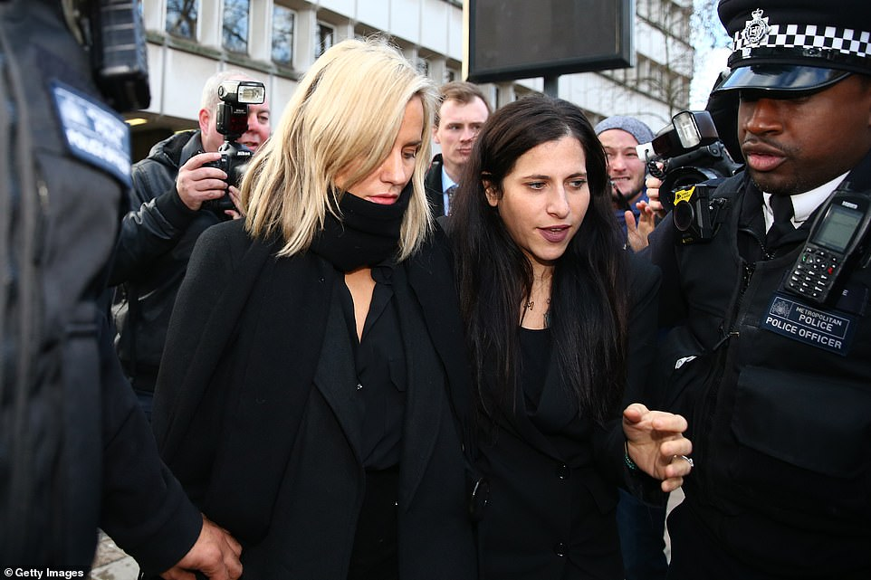 Woes: It comes after the show's original presenter Caroline Flack (pictured above arriving in court on Monday) announced she would be stepped down after she was arrested for assault