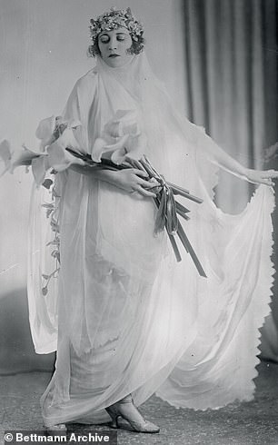 Gaiety Girl Ruby Miller was Jo in the 1917 version
