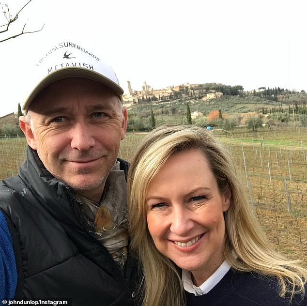 Full life:Melissa's charity work also helped her to put the recent cancellation of Sunday Night into perspective. Pictured with her husband