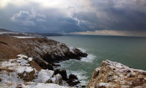 The view from Porthmeor Point, Cornwall.