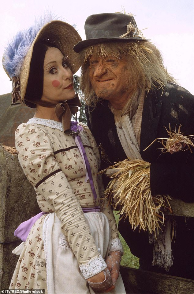 Anyone seen Aunt Sally? Jon famously played the lead in the 70s (pictured with Una Stubbs as Aunt Sally)