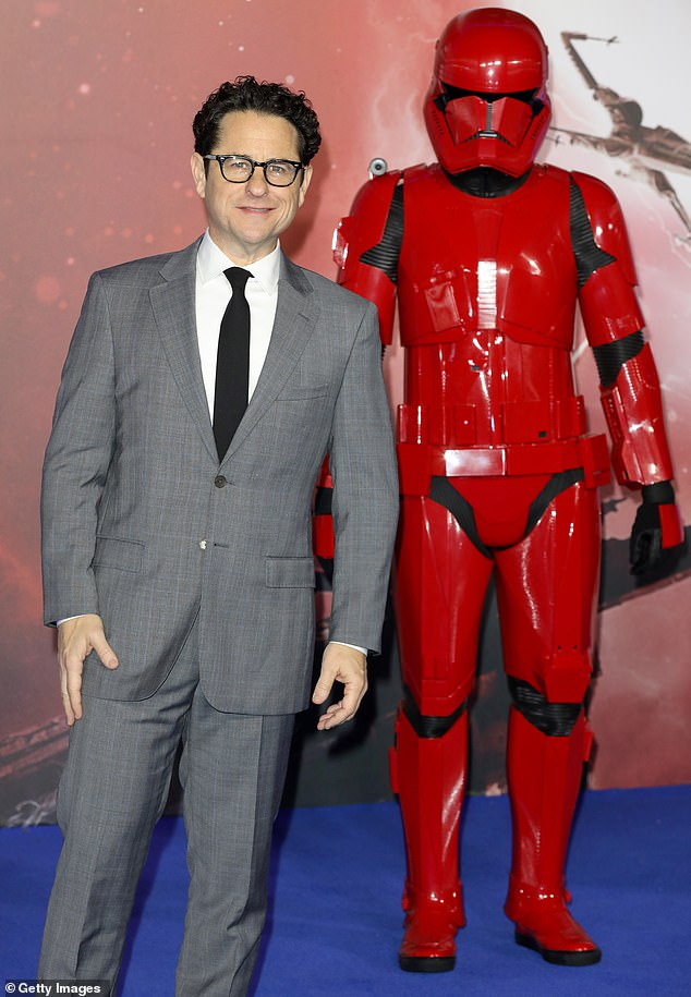 Can't have it all: Director J.J. Abrams previously insisted the criticism of the Rise of Skywalker is was 'right' and admitted it was impossible to please everyone (pictured earlier this month)