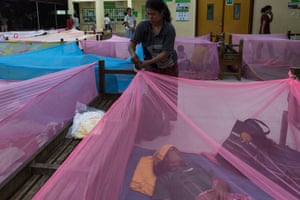 Families who travel to Angkor hospital are allowed to sleep there