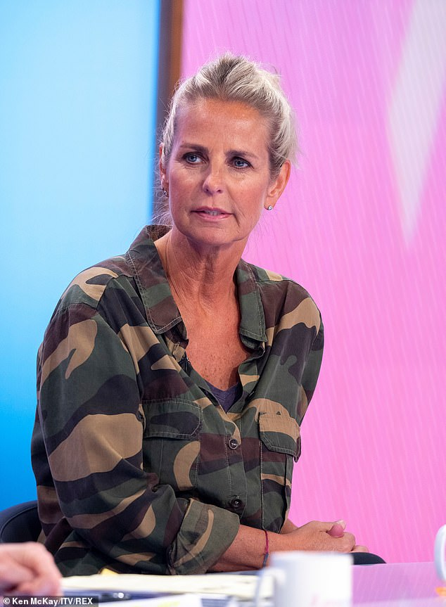 Insecurities:The 52-year-old television presenter admitted she became 'quite insecure' in her third marriage as she claimed they only got intimate once in eight years