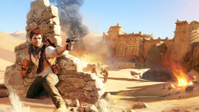 Best Video Games of 2010s - Uncharted 3: Drake's Deception