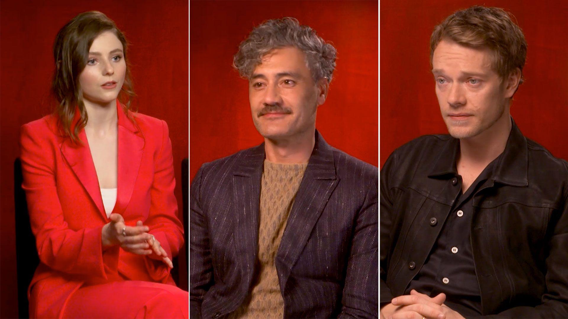 The <i>Thor: Ragnarok</i> director's new film set in Nazi Germany pushes the boundaries of comedy. Jojo Rabbit comes to cinemas on 1 January, 2020.