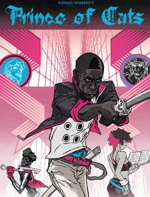 Delightfully retro milieu … Prince of Cats by Ronald Wimberly.