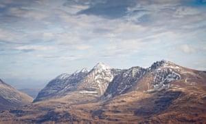 Stupendous views of Beinn Eighe.