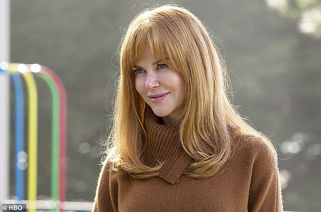 Award winner: Kidman is currently up for her second consecutive Golden Globe nomination for her role as Celeste, winning Best Actress in a Miniseries in 2018