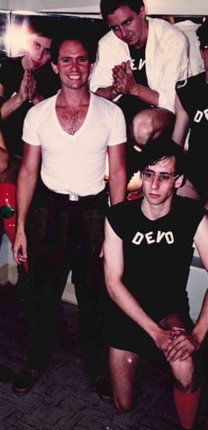 Peter Ivers with Devo