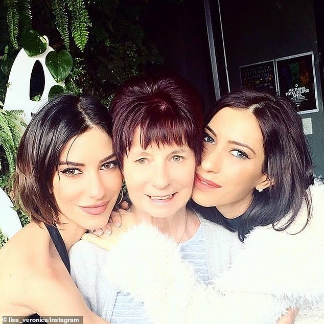 Devastating:Lisa and Jessica's mother Colleen was diagnosed with Lewy Body Dementia last year - which causes her thinking, memory and movement to slowly deteriorate