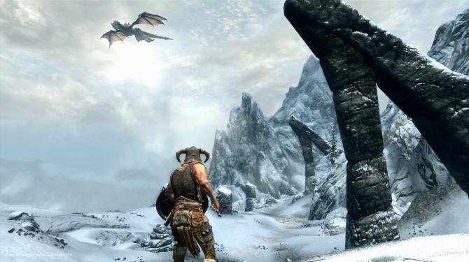 Best Video Games of 2010s - The Elder Scrolls V: Skyrim