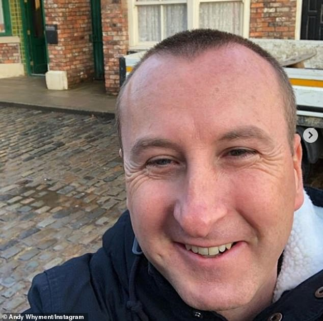 My number one:Speaking about his Coronation Street career, he said: 'Oh no Corrie is my number one priority, when someone asked if I was going to be given a record deal I thought thanks but no thanks'
