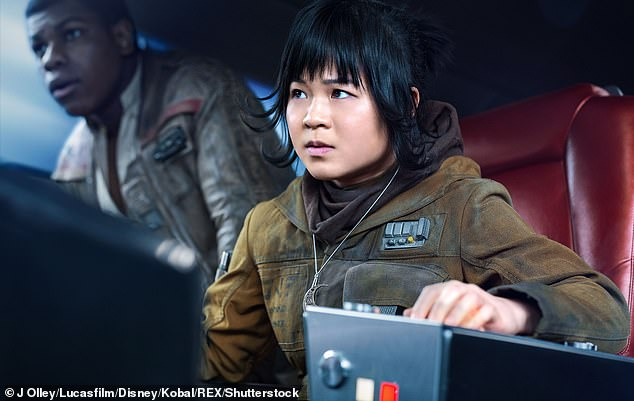 Rose:While Terrio, who won an Oscar for writing Argo and also wrote Batman v Superman: Dawn of Justice and Justice League, admitted that he and director J.J. Abrams, 'adore Kelly Marie Tran,' he revealed why she doesn't have as many scenes