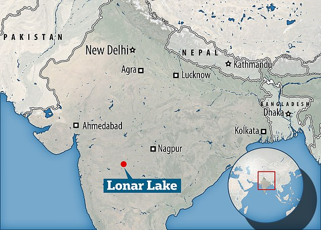 Lonar Lake in India is also known as the Lonar crater and a National Geo-heritage Monument. It was created by an asteroid collision with Earth during the Pleistocene Epoch
